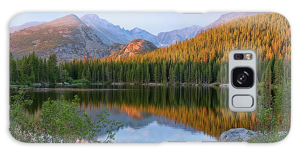 Sunrise On Bear Lake Rocky Mtns Galaxy Case by Teri Brown