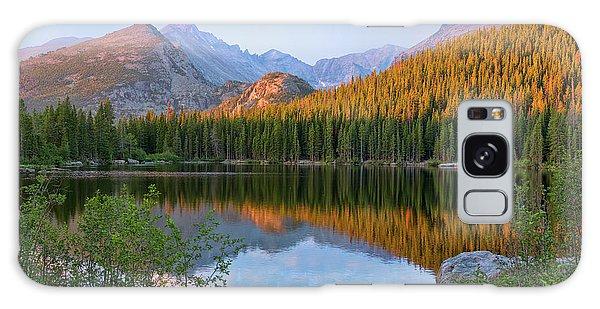 Sunrise On Bear Lake Rocky Mtns Galaxy Case by Teri Brown