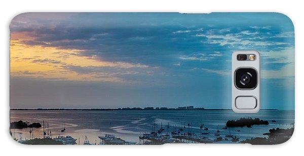 Sunrise On Biscayne Bay Galaxy Case