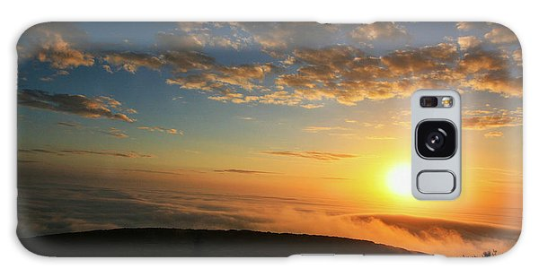 Sunrise On Cadillac Mountain Galaxy Case