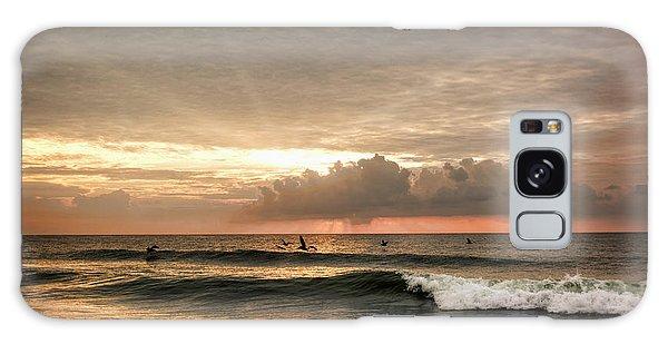 Sunrise On Carolina Beach North Carolina Galaxy Case