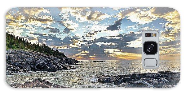 Sunrise On Christmas Cove Galaxy Case