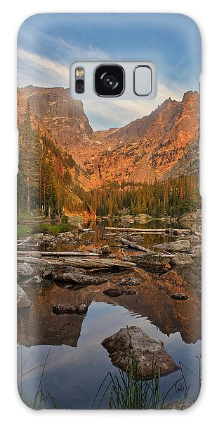 Sunrise On Dream Lake Galaxy Case