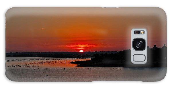 Sunrise On Lake Ray Hubbard Galaxy Case