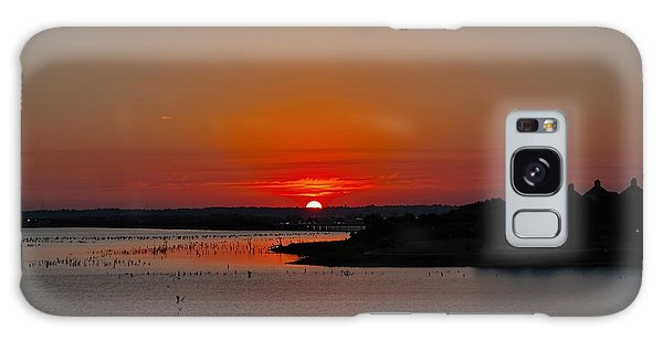 Sunrise On Lake Ray Hubbard Galaxy Case
