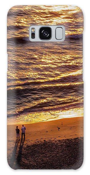 Sunrise On Melbourne Beach Galaxy Case