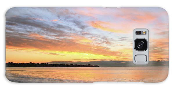 Sunrise On Middletown Rhode Island Galaxy Case by Roupen  Baker