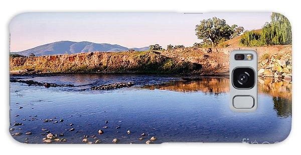 Sunrise On Nariel Creek Galaxy Case by Lexa Harpell