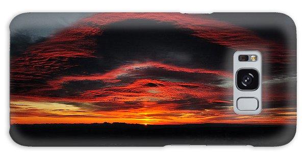 Sunrise On Rainier Galaxy Case