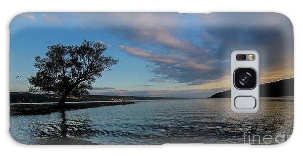 Sunrise On Seneca Lake Galaxy Case