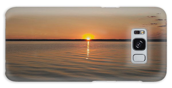 Sunrise On Seneca Lake Galaxy Case by William Norton