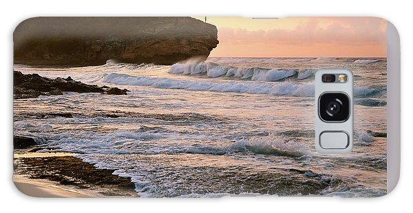 Sunrise On Shipwreck Beach Galaxy Case by Marie Hicks