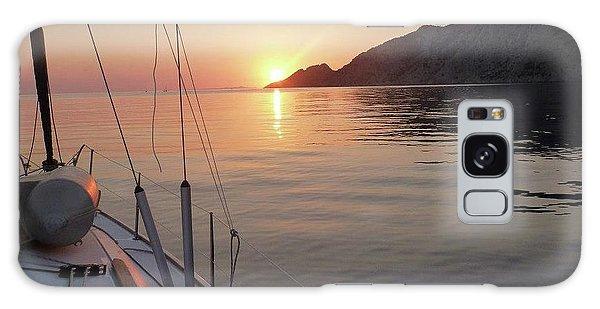Sunrise On The Aegean Galaxy Case