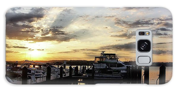 Sunrise On The Alexandria Waterfront Galaxy Case