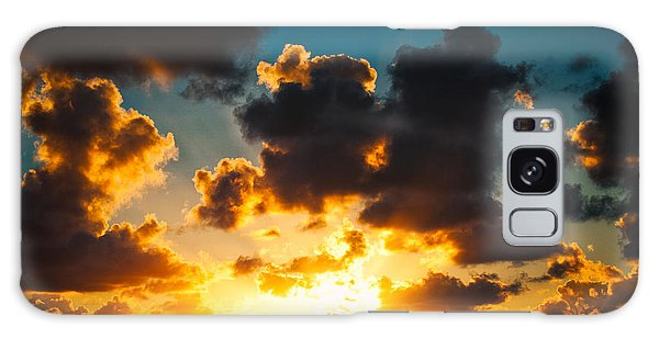Sunrise On The Atlantic #19 Galaxy Case