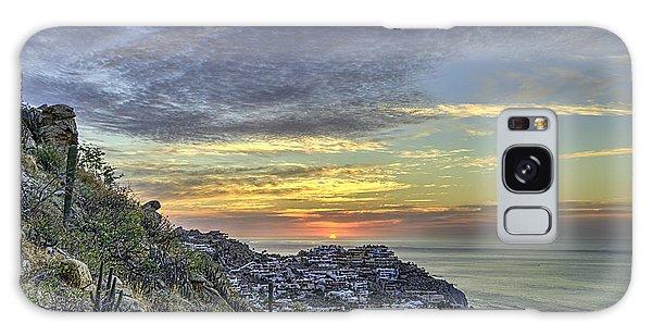 Sunrise On The Coast Galaxy Case