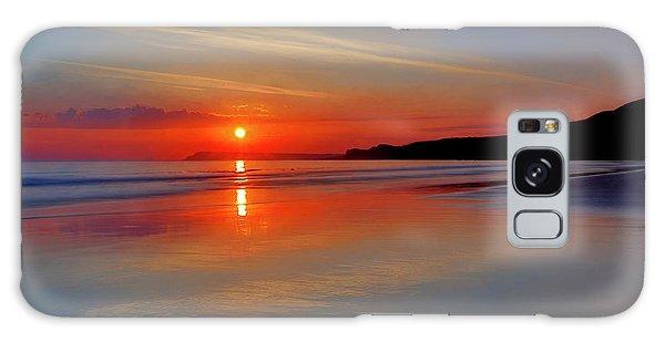 Sunrise On The Coast Galaxy Case by Roy McPeak