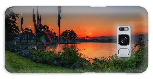 Galaxy Case featuring the photograph Sunrise On The Neuse 2 by Cindy Lark Hartman