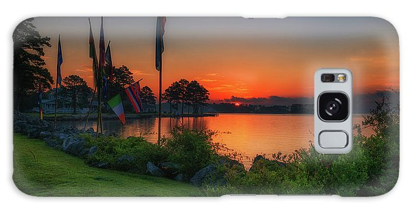 Sunrise On The Neuse 2 Galaxy Case