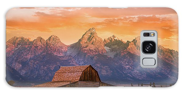 Sunrise On The Ranch Galaxy Case