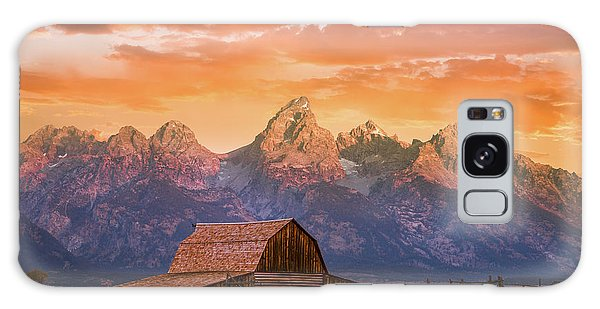 Teton Galaxy Case - Sunrise On The Ranch by Darren White