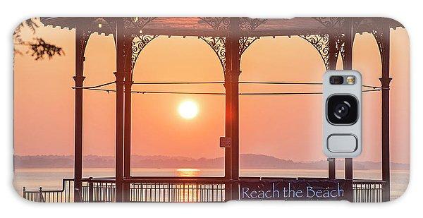 Sunrise On The Revere Beach Bandstand Revere Ma Galaxy Case