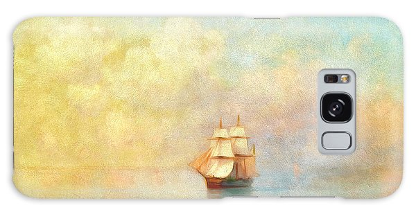 Boat Galaxy S8 Case - Sunrise On The Sea by Georgiana Romanovna