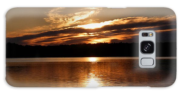 Sunrise On The Turtle Flambeau Flowage Galaxy Case