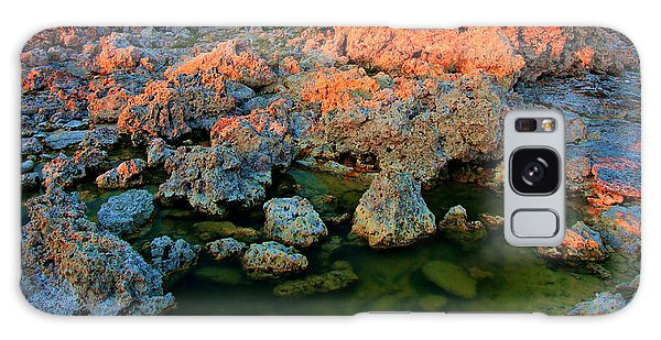 Sunrise On Tufa 2 Galaxy Case