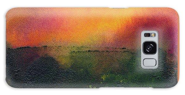 Sunrise Over A Marsh Galaxy Case