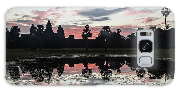 Sunrise Over Angkor Wat Galaxy Case