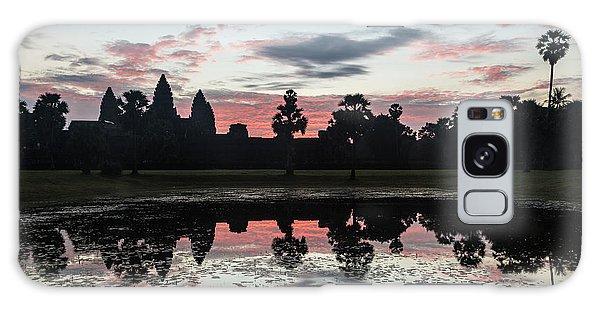 Sunrise Over Angkor Wat Galaxy Case