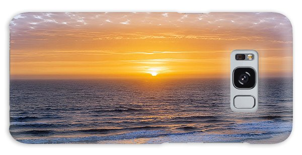 Breaking Dawn Galaxy Case - Sunrise Over Atlantic Ocean by Elena Elisseeva