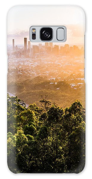 Sunrise Over Brisbane Galaxy Case