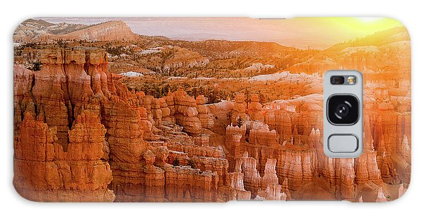 Sunrise Over Bryce Canyon Galaxy Case