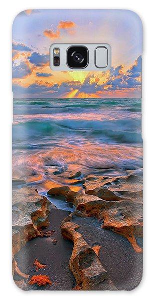 Sunrise Over Carlin Park In Jupiter Florida Galaxy Case