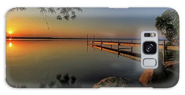 Sunrise Galaxy Case - Sunrise Over Cayuga Lake by Everet Regal