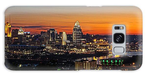 Sunrise Over Cincinnati Galaxy Case