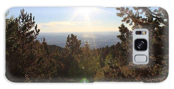 Sunrise Over Colorado Springs Galaxy Case