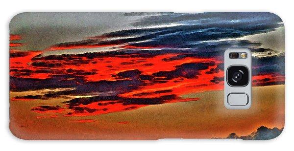 Sunrise Over Daytona Beach Galaxy Case