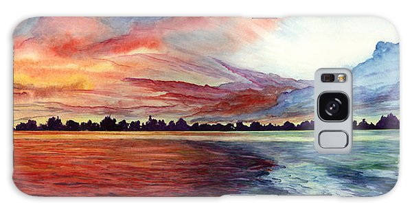 Sunrise Over Indian Lake Galaxy Case