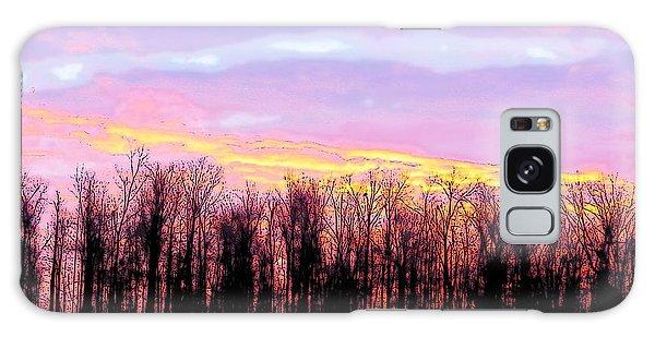 Sunrise Over Lake Galaxy Case