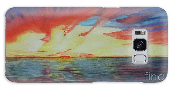 Sunrise Over Matagorda Bay Galaxy Case