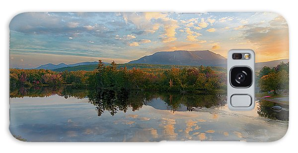 Sunrise Over Mt. Katahdin Galaxy Case