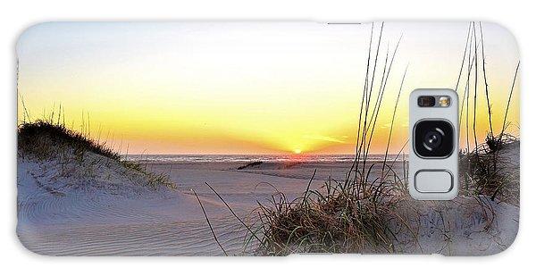 Sunrise Over Pea Island Galaxy Case