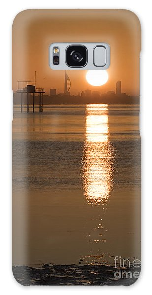Sunrise Over Portsmouth Galaxy Case
