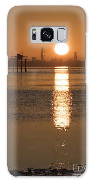 Sunrise Over Portsmouth Galaxy Case