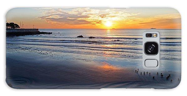 Sunrise Over Red Rock Park Lynn Shore Drive Galaxy Case