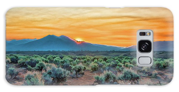 Sunrise Over Taos Galaxy Case
