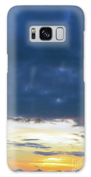 Sunrise Over The Cascades Galaxy Case